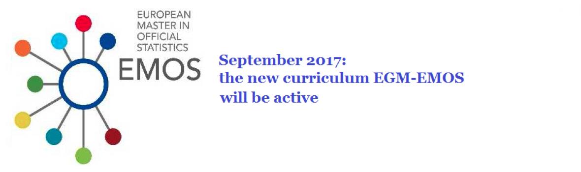New curriculum EGM-EMOS